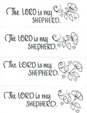 The LORD is my Shepherd (bookmarks)