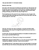 The Lad Who Went to the North Wind. Story, worksheet, and