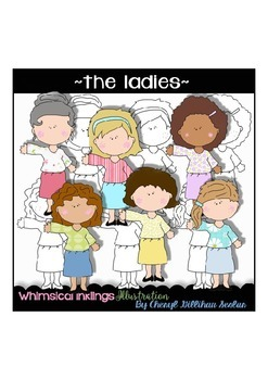 The Ladies Women~ Mom~ Grandma Clipart Collection