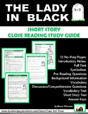 """""""The Lady in Black,"""" by Saki: Close Reading Study Guide"""