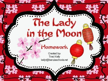 The Lady in the Moon Homework - Scott Foresman 1st Grade