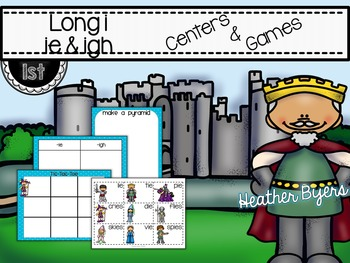 Long i: ie & igh Centers and Games