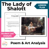 The Lady of Shallot - Alfred Tennyson Lesson Plan
