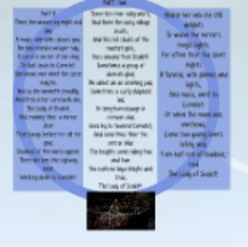 The Lady of Shalott Part 1 and 2 Prezi