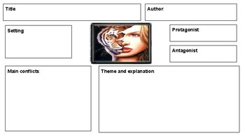 The Lady or the Tiger Graphic Organizers