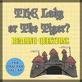 """The Lady or the Tiger?"" Reading Questions"