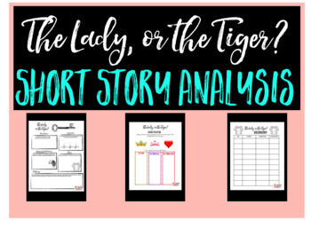 The Lady, or the Tiger? Short Story Analysis for Middle School and High School