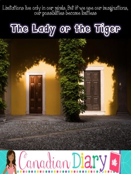 Short Story: The Lady or the Tiger five day lesson plan (grade 5 - 8)