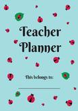 The Ladybug Teacher Planner