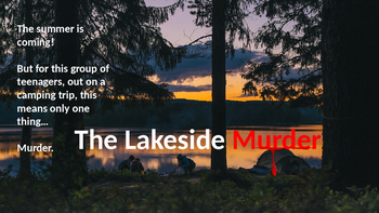 The Lakeside Murder - Creative Writing Lesson