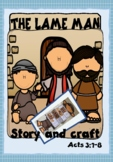 The Lame Man at the Gate Beautiful Bible Story and Craft