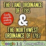Northwest Ordinance, Land Ordinance, the Northwest Territory, & the Common Core