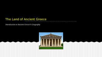 The Land of Ancient Greece