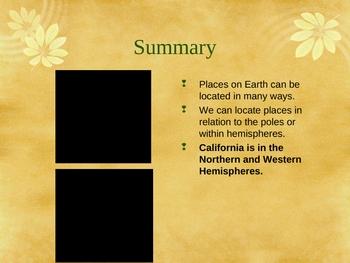 """The Land of California"" Fourth Grade California Social Studies - 4.1"
