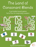 The Land of Consonant Blends Board Game