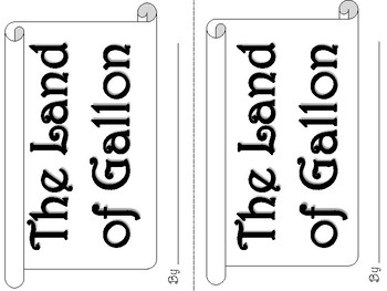 Volume: The Land of Gallon Minibook