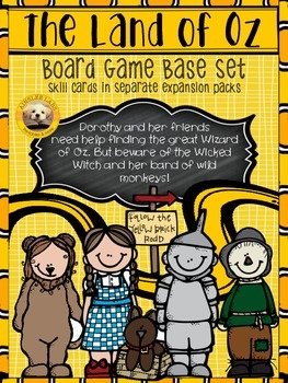 The Land of Oz Board Game: BASE SET