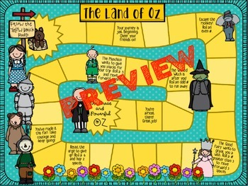The Land of Oz Board Game: BASE SET