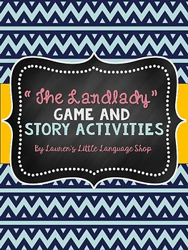 The Landlady Workbook Activities and Review Game