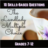 The Landlady Annotation Guide and Multiple Choice