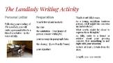 The Landlady Creative Writing Activity