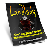The Landlady by Roald Dahl Close Reading Assessment and Writing Project