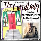 THE LANDLADY BY ROALD DAHL FOLDING QUESTIONS & TEST