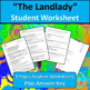 The Landlady by Roald Dahl Reading Comprehension with Text Dependent Questions