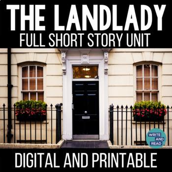 The Landlady by Roald Dahl Short Story Unit