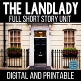 The Landlady Digital and Printable Short Story Unit   Distance Learning