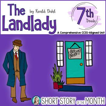 The Landlady by Roald Dahl Short Story Unit for Middle School