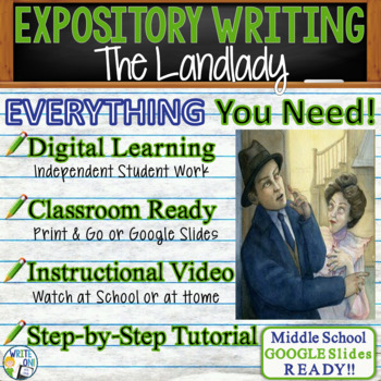 Essay Examples English  The Landlady By Roald Dahl  Text Dependent Analysis Expository Writing After High School Essay also Good Thesis Statement Examples For Essays Boy Roald Dahl Teaching Resources  Teachers Pay Teachers Essay About Good Health