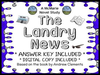 The Landry News (Andrew Clements) Novel Study / Reading Comprehension