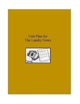 The Landry News - Clements - Complete Literature and Grammar Unit