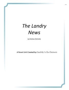 The Landry News Novel Unit Plus Grammar