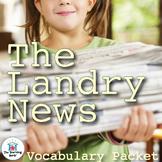 The Landry News Vocabulary Packet