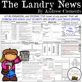 The Landry News by Andrew Clements Novel Study