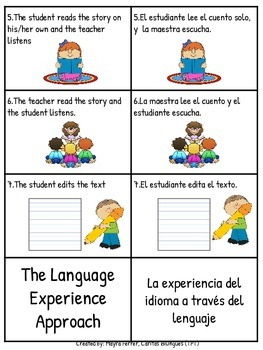The Language Experience Approach