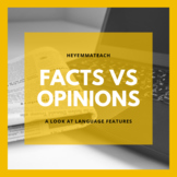 The Language of Facts and Opinions