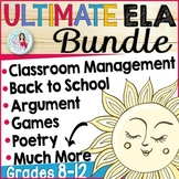 Ultimate English Language Arts Resource MEGA Bundle for Mi