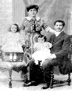 The Laroche Family -one of the only African American families on Titanic.