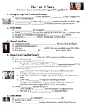 The Last 35 Years (Carter, Reagan, Bush) Guided PowerPoint Lecture Notes