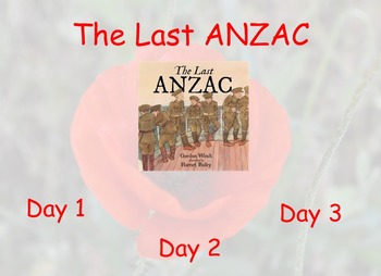 The Last ANZAC - Guided Reading 3 Day Pack  - Four Block Literacy