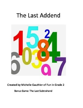 The Last Addend Game