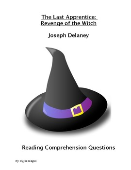 The Last Apprentice:  Revenge of the Witch Reading Comprehension Questions