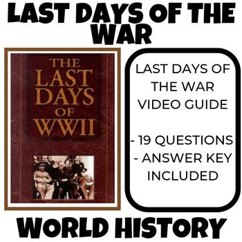 The Last Days of World War II World History