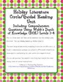 The Last Holiday Concert Novel Study Webb's DOK Questions Extensions Vocabulary