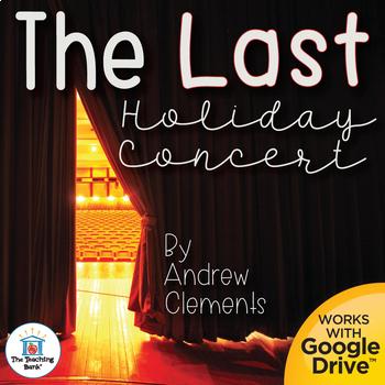 The Last Holiday Concert Novel Study Book Unit