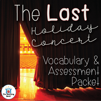 The Last Holiday Concert Vocabulary and Assessment Bundle