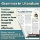 The Gift of the Magi by O. Henry - Nouns - Grammar in Literature Series